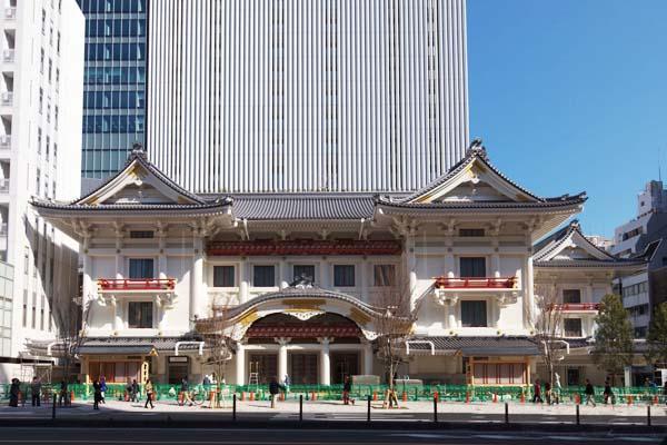 歌舞伎座から徒歩1分